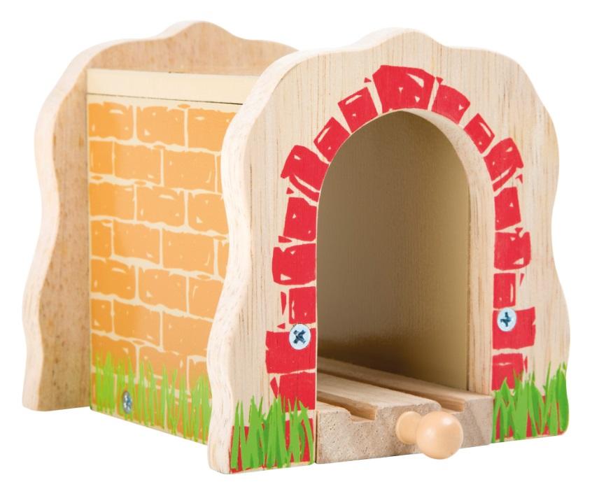 10271 Tunel ozdobny Small foot z torem pojedynczym