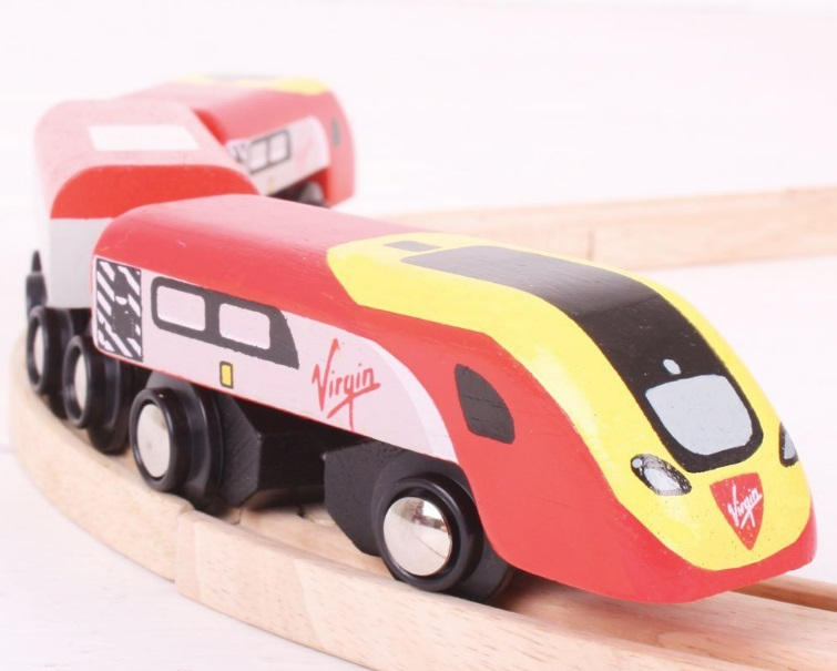 BJT461 Czerwone pendolino Virgin Train