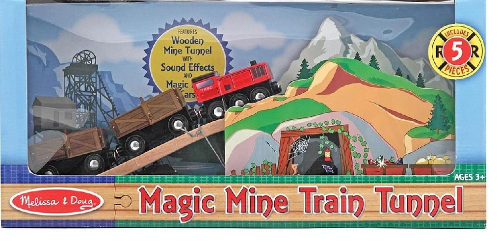 10619 Magiczna kopalnia - tunel z pociągiem
