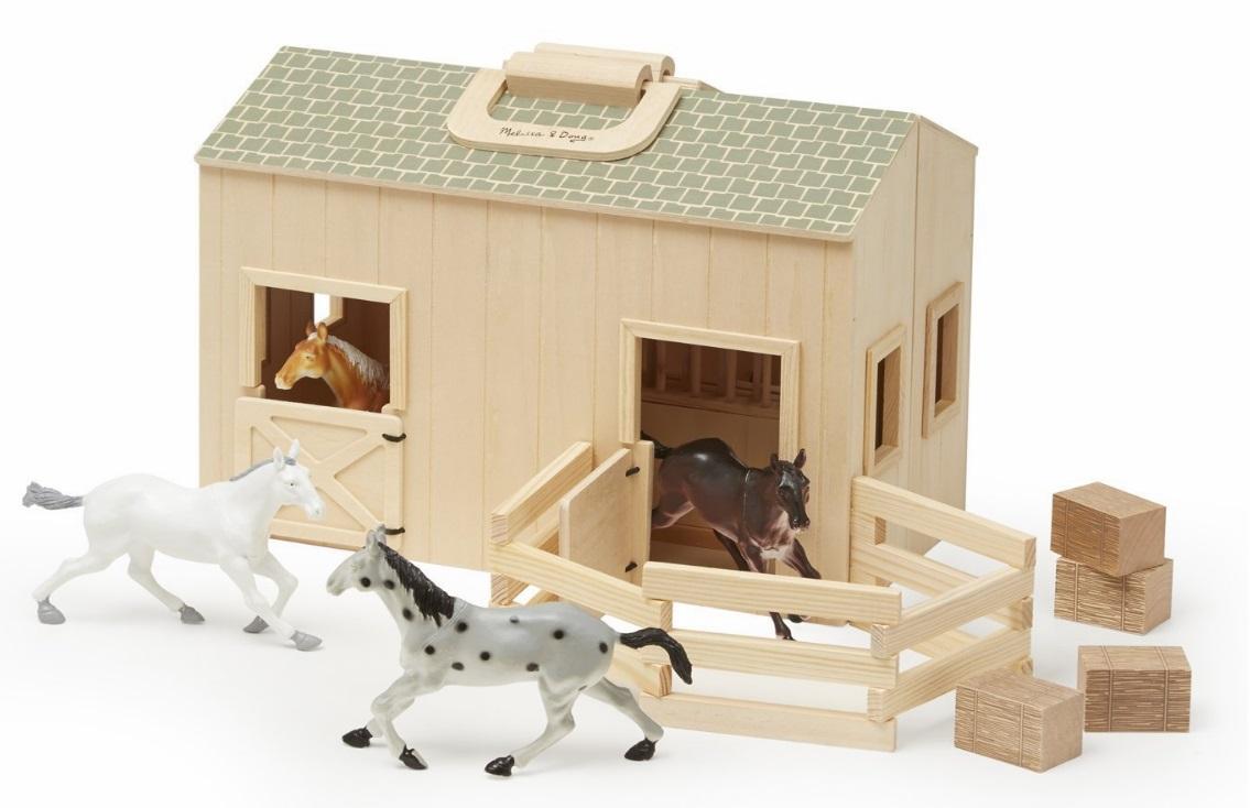 13704 Stajnia duża + konie