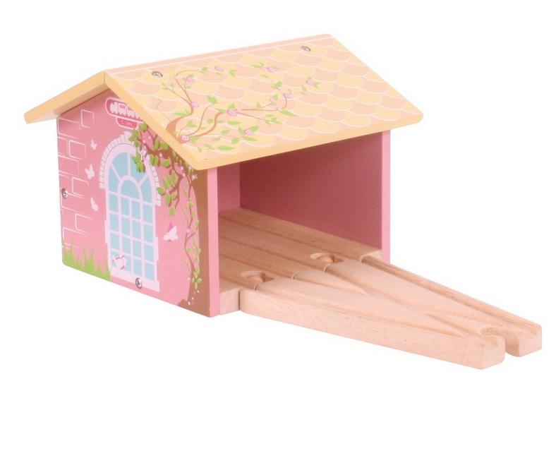 Domek dla różowego pociągu - Bigjigs