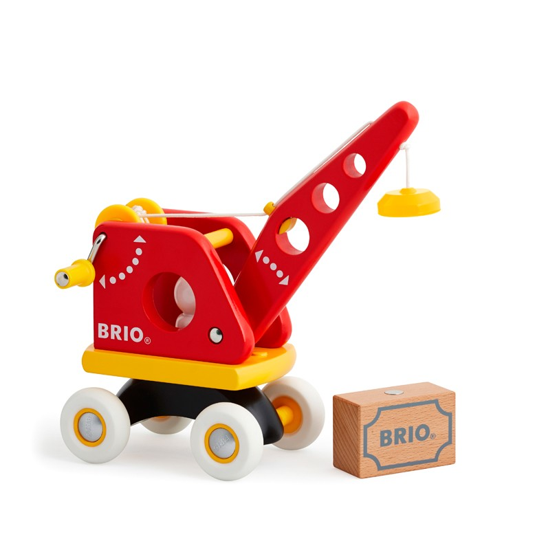 Drogowy dźwig magnetyczny z ładunkiem - Brio