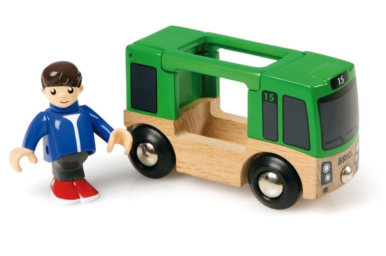 Autobus - szynobus z pasażerem - Brio