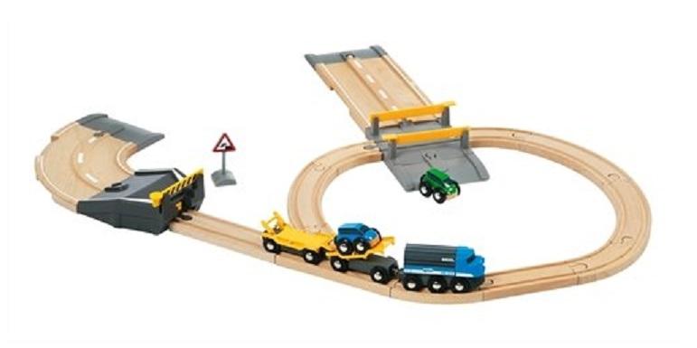 Bocznica drogowo-kolejowa z rampą - Brio