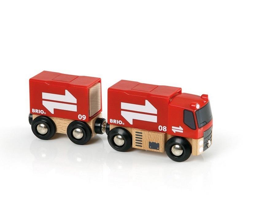 Ciężarówka z przyczepą - Brio
