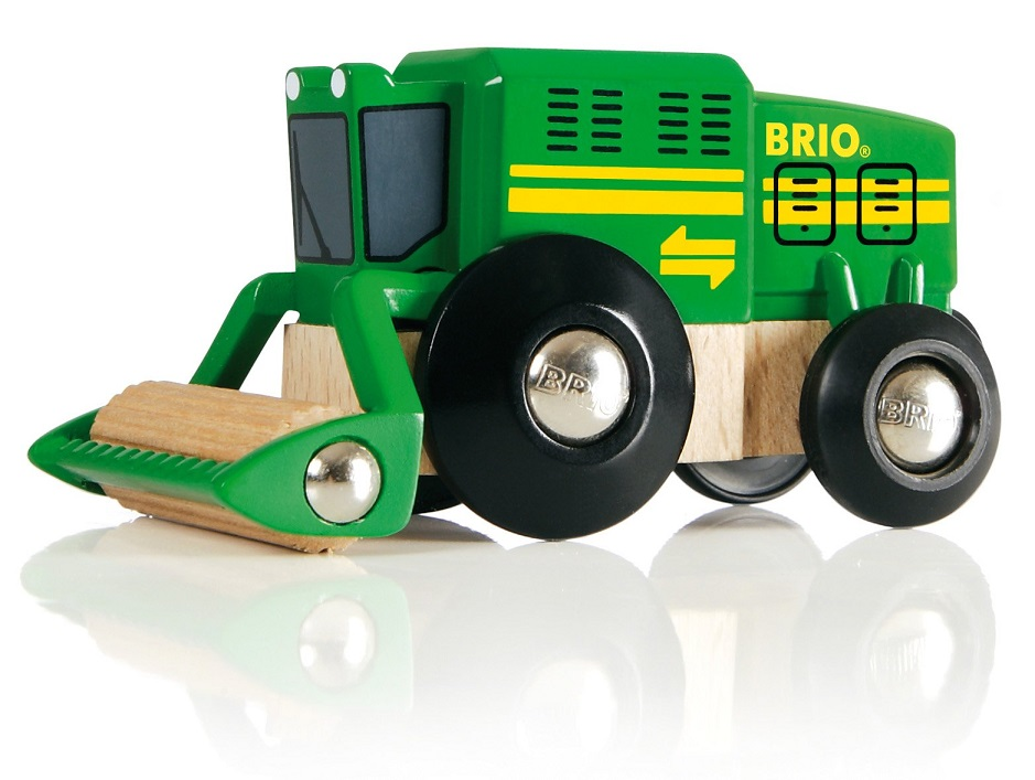 Kombajn kolejowy z rolką - Brio