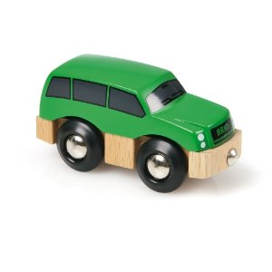 Zielone autko SUV - Brio