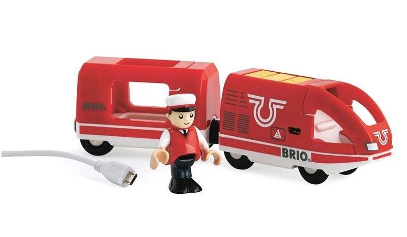 Czerwony ekspres USB elektryczny - Brio