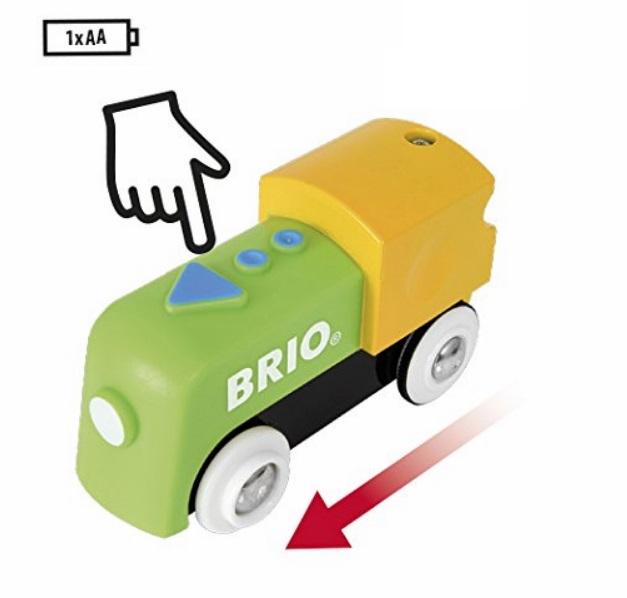 Lokomotywa elektryczna bobasa - Brio