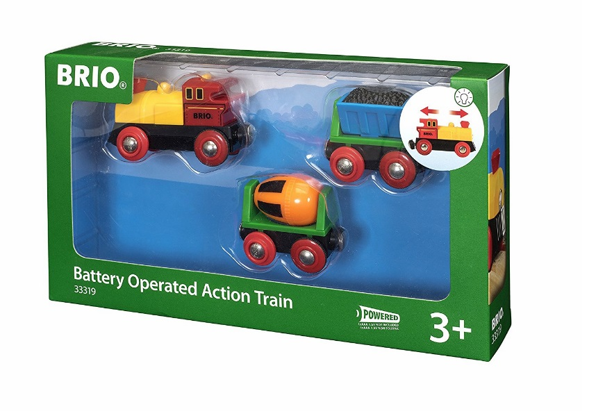 Pociąg towarowy - elektryczny z ruchomymi wagonikami - Brio