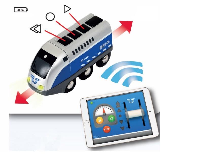 Programowalna lokomotywa inteligentna - Tablet - Brio