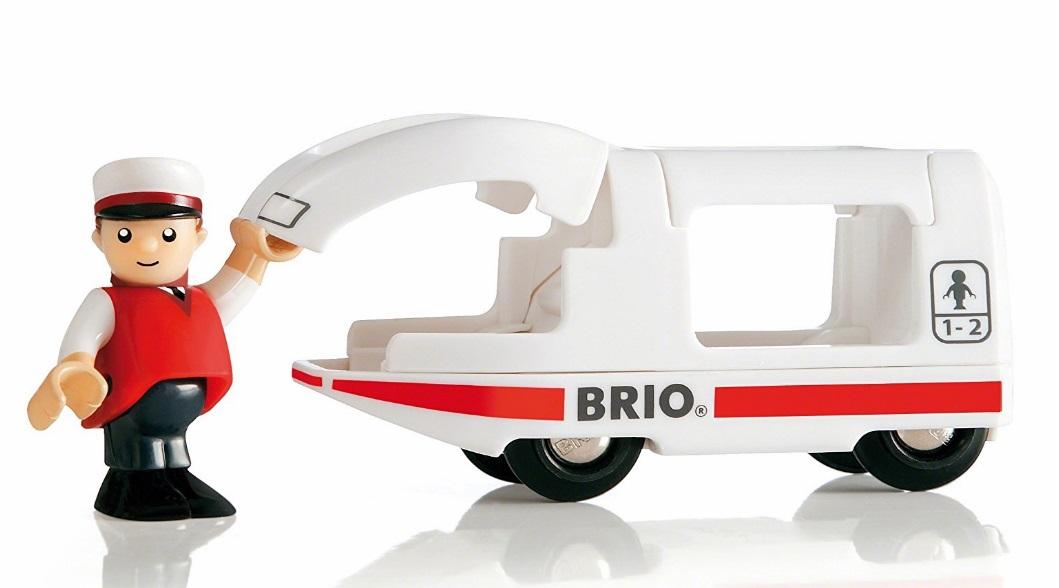 Lokomotywa z maszynistą - Brio