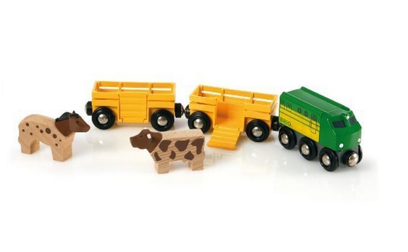 Pociąg farmera - Brio