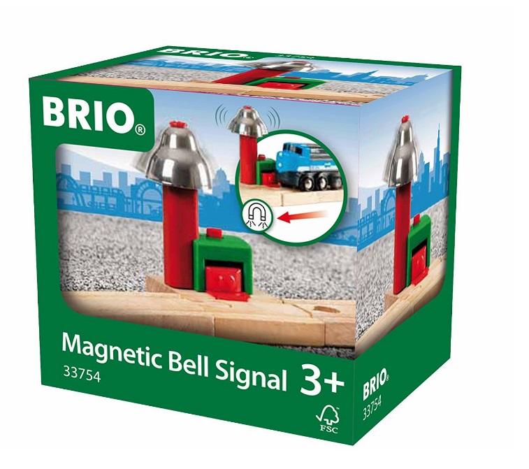 Ostrzegawczy dzwon kolejowy - Brio