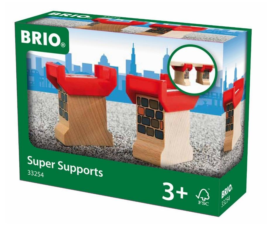 Podpora z czerwoną prowadnicą - Brio