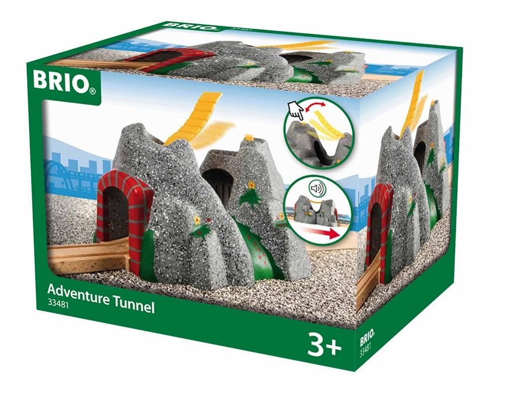 Tunel górski - zabawka muzyczna - Brio