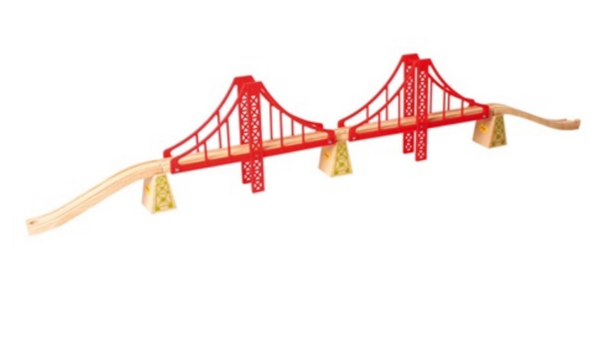Golden Gate - wiszący most czerwony - Bigjigs