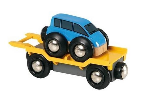 Laweta do transportu autek z rampą - Brio