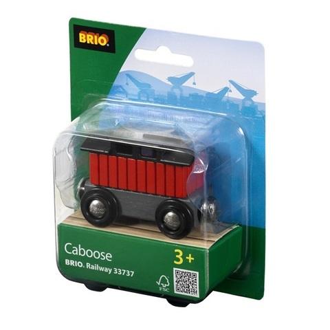 Wagon mieszkalny, czerwony - Brio