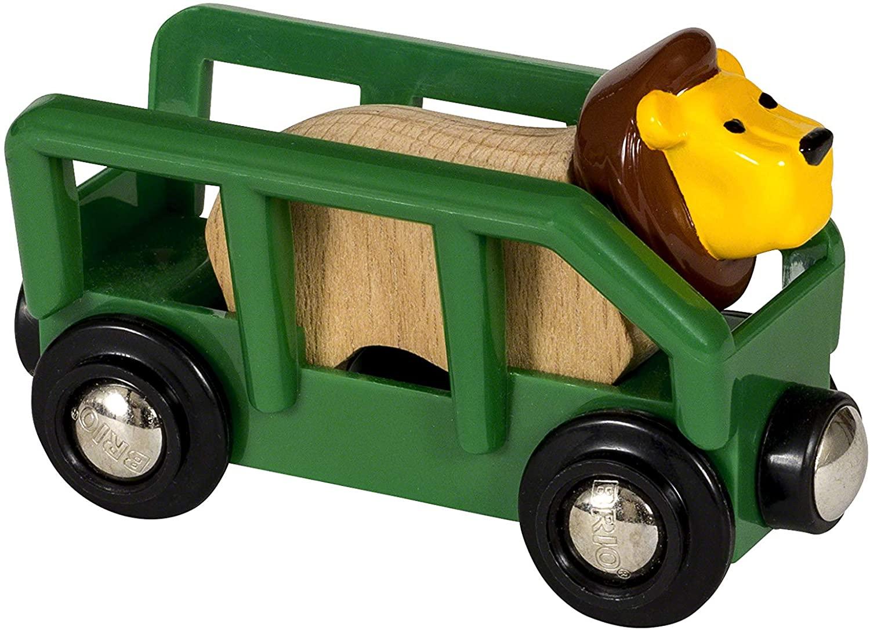 Wagon towarowy, niebieski - Brio