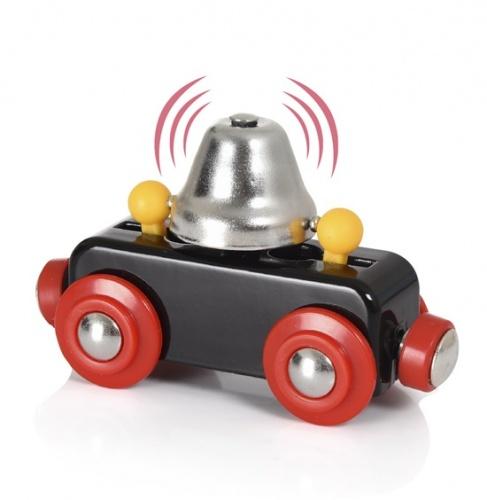 Wagon z dzwonem ostrzegawczym - Brio