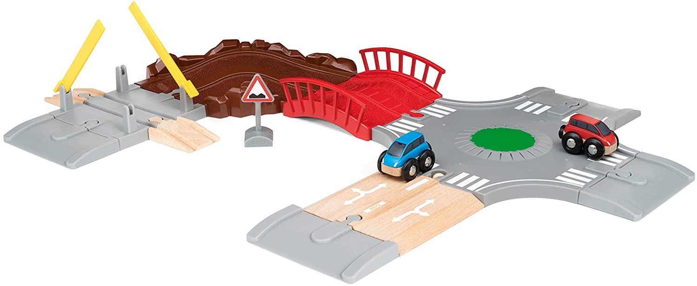 Wyścigowy zestaw droga i rondo  - Brio