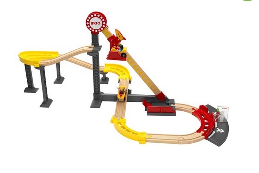 Kolejka górska - wielki roller coaster - kompletny zestaw - Brio