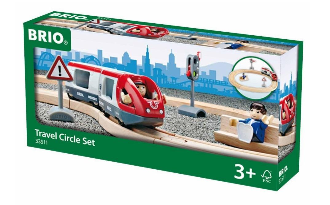 Kolejka pasażerska - zestaw startowy - kompletny - Brio