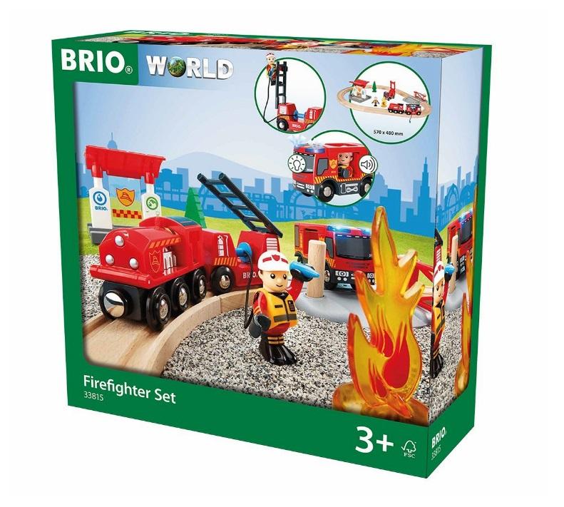 Kolejowy świat strażacki - Brio