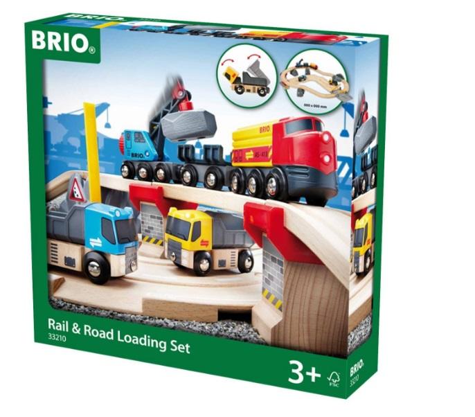 Kompletny zestaw budowlano-kolejowy - Brio