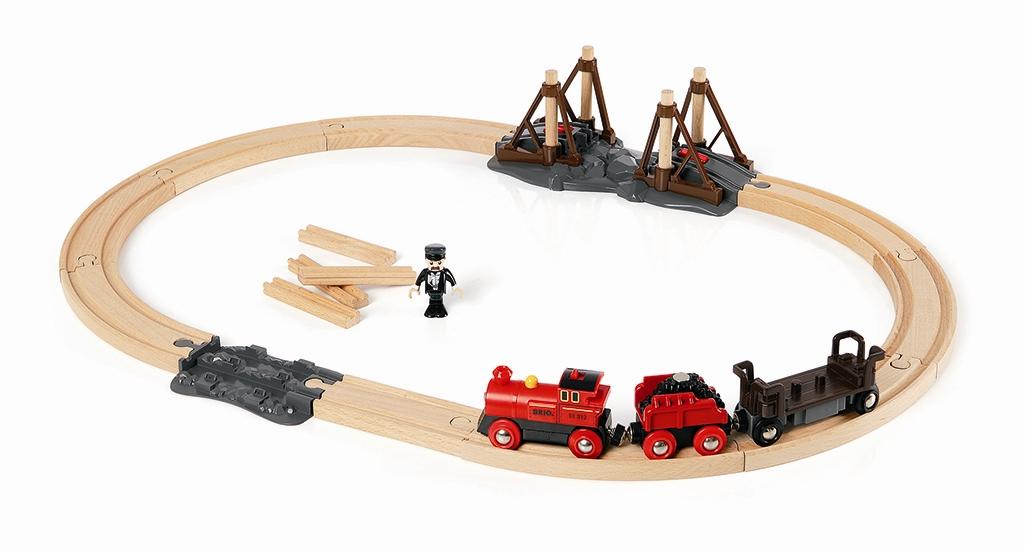 Konstrukcyjny zestaw budowy mostów kolejowych elektryczny - Brio