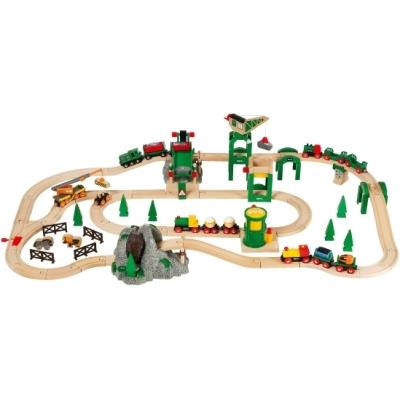 Luksusowy zestaw kolejowy - Deluxe - Brio