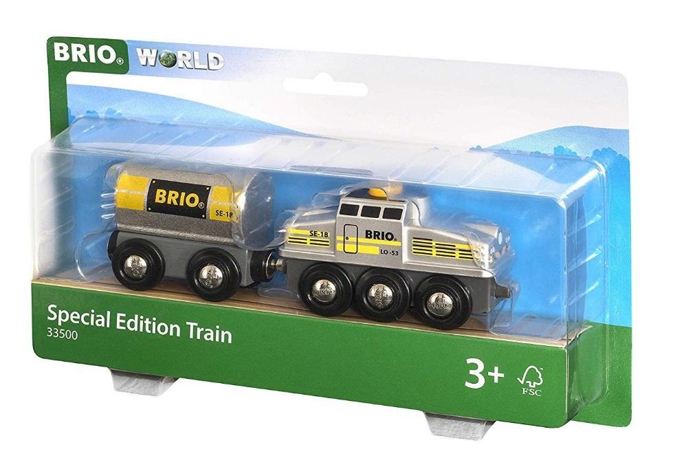 Srebrny pociąg specjalny - Brio