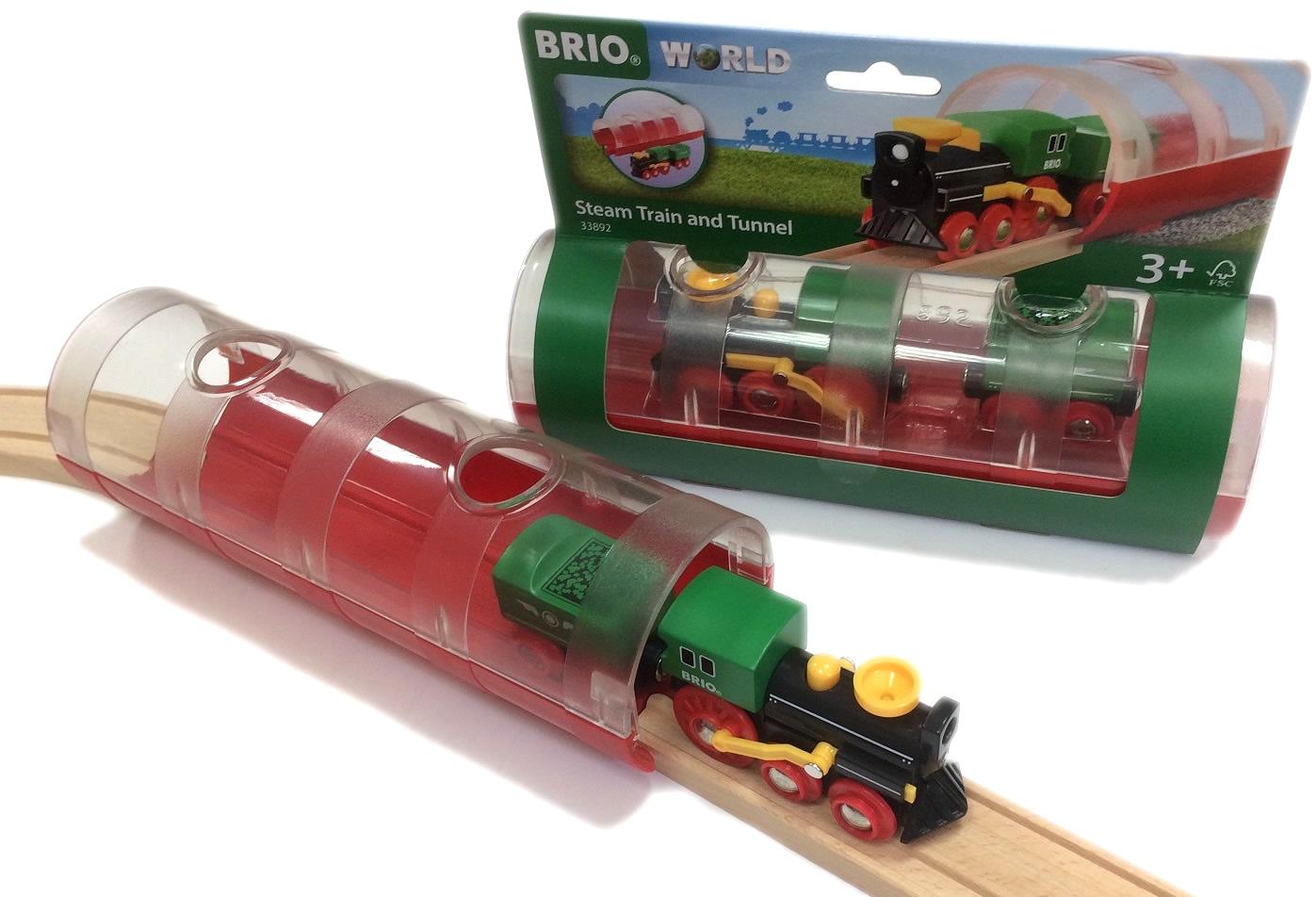 Tunel z pociągiem klasycznym - Brio