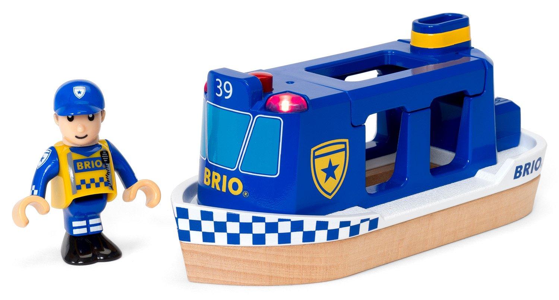 Statek policja ze światłem - Brio