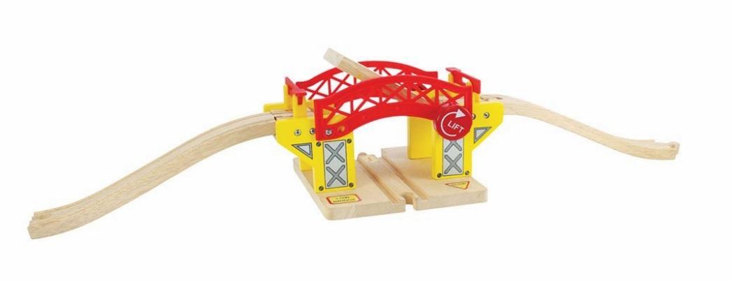 Most zwodzony nad torami kolejowymi - Bigjigs