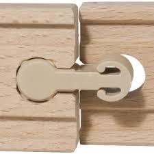 Łącznik do torów Ikea, plastikowa końcówka torów drewnianych - Inne