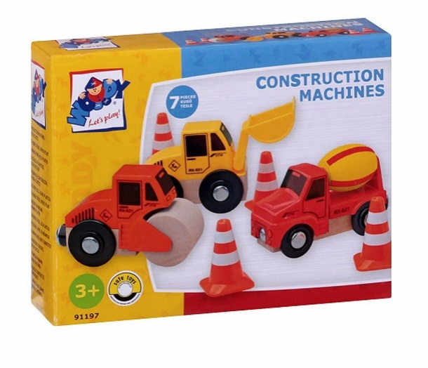 Zestaw ruchomych pojazdów budowlanych - Inne