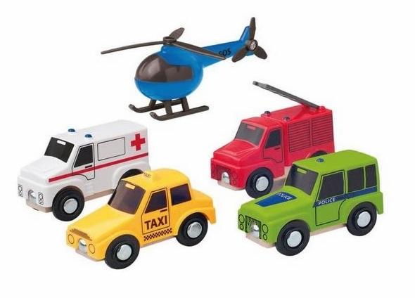 Zestaw pojazdów miejskich z helikopterem - Inne