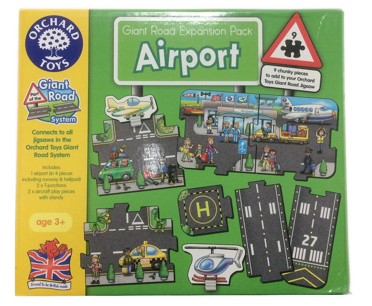Lotnisko - puzzle drogowe do makiet kolejowych - Inne