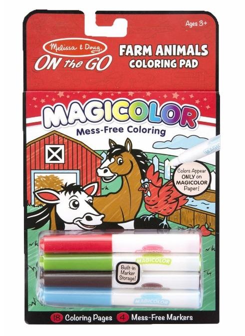 Magiczna kolorowanka zwierzątka NIE BRUDZI! - Melissa i Doug