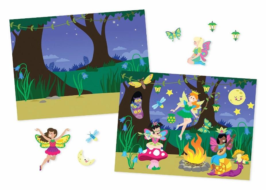 Bezklejowe, foliowe nalepki wielorazowe 603+ karty pracy - Melissa i Doug