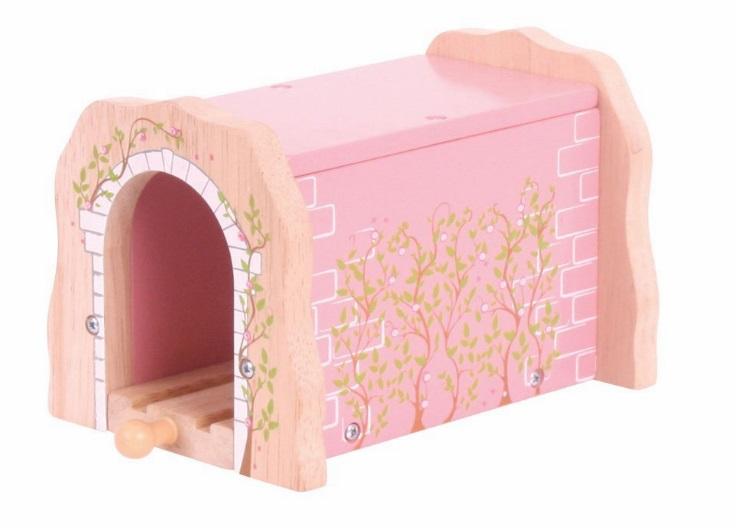 Różowy tunel górski dla pociągu księżniczki - Bigjigs