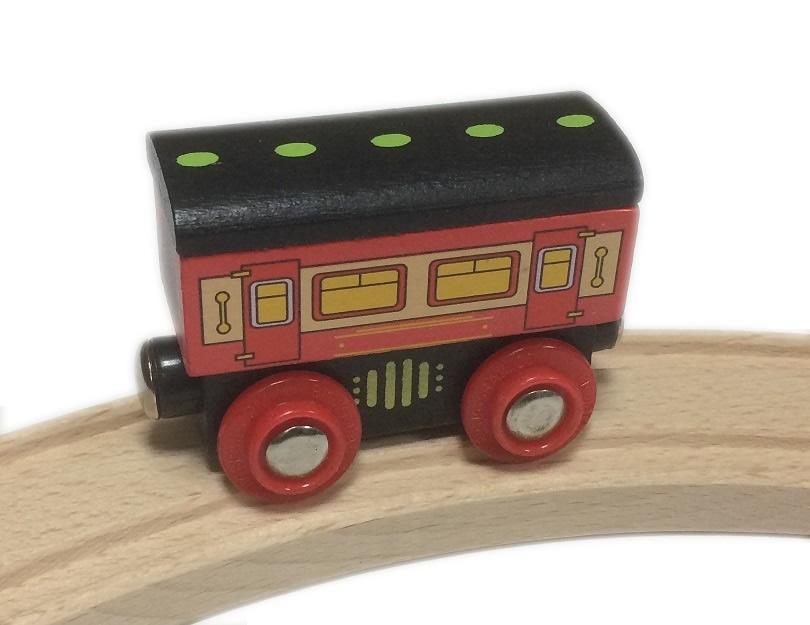 Wagon - pasażerski - komfortowy - Bigjigs