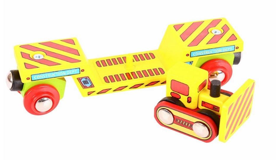 Wagon do przewożenia Buldożera - Bigjigs