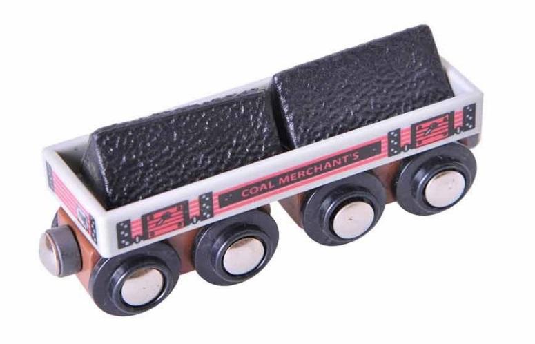 Wagon towarowy na dowolne ładunki + pakiety węgla - Bigjigs