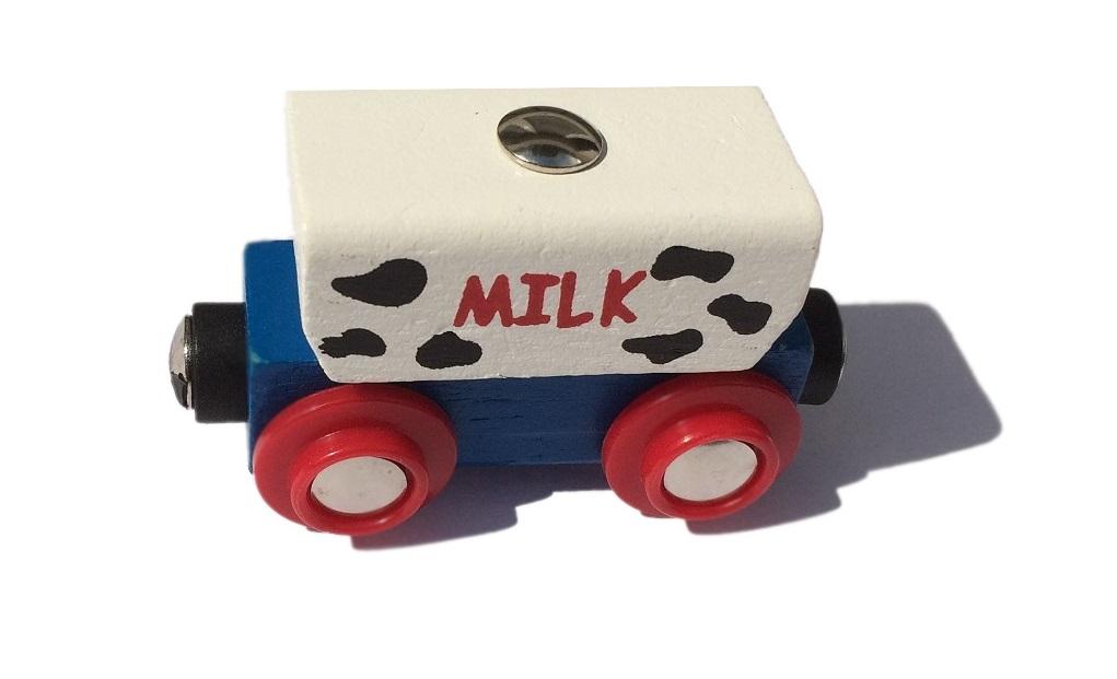 Wagon z mlekiem - Bigjigs