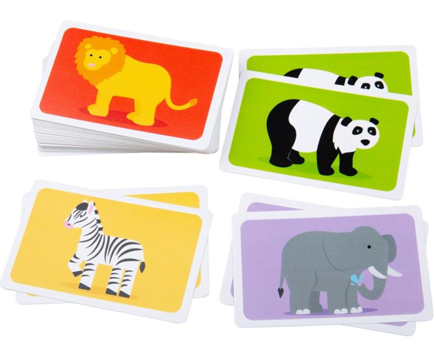 Karty zwierząt afrykańskich - Bigjigs