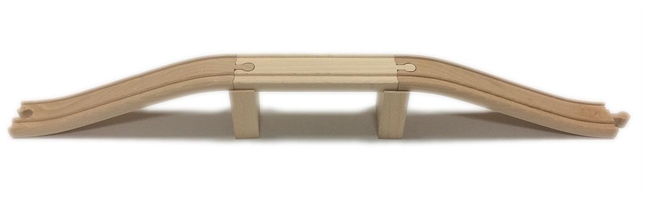 Wiadukt 50 cm, drewniany - Kolejkowy Zakątek