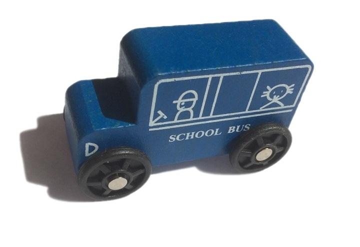 Niebieski autobus, szynobus - Kolejkowy Zakątek